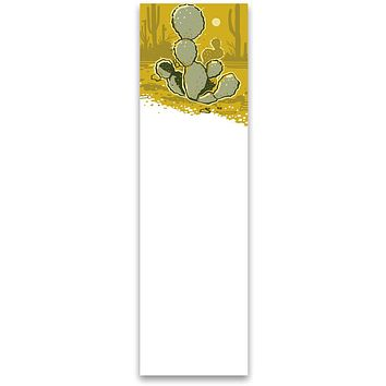 """Cactus Paper Magnetic List Notepad 