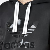 adidas Contrast Sleeves Pullover Hoodie at PacSun.com
