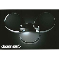Deadmau5 Chrome Dome Poster 24x36
