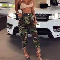 Camouflage Vibe Trousers