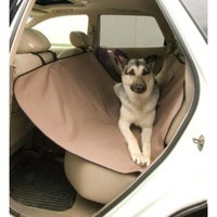 K&H Pet Car Seat Saver Tan for Dogs | Vehicle Accessories