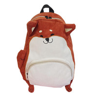 2017 Japanese cute cartoon animals backpack school bags for girls larger capacity corduroy backpack high school students bag#DEE