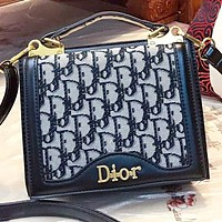 Dior New fashion more letter shoulder bag crossbody bag handbag