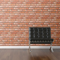 I liked this design on #Fab. Brick Removable Wallpaper
