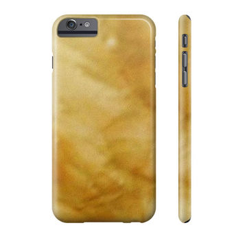 Cell Phone Case Beige Marble Look