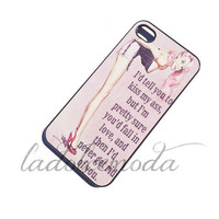 FUNNY vintage girl quote IPHONE case iPhone 4 iPhone 5 hard plastic case lol love summer haha