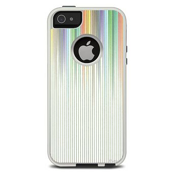 The Faded Pastel Color-Stripes Skin For The iPhone 5-5s Otterbox Commuter Case