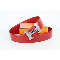 Hermes belt men's and women's casual casual style H letter fashion belt460