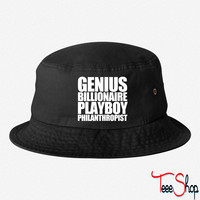 Genius Billionaire Playboy Philanthropist bucket hat