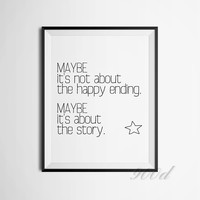 Quote Canvas Art Print Painting Poster, Wall Pictures for Home Decoration, Wall Decor FA358