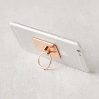 Rose Gold Phone Ring Holder Stand | Urban Outfitters Canada