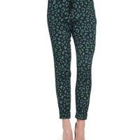 Pitch Black Bijou Bijou Leopard Pant by Juicy Couture,