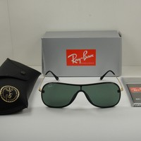 RAY-BAN SUNGLASSES RB4311N 601/71 BLACK & GOLD FRAME/ GREEN CLASSIC LENS 38MM