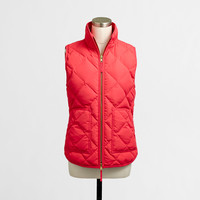 Factory quilted puffer vest : Outerwear | J.Crew Factory