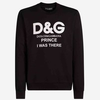 Dolce & Gabbana Fashion Trending Long Sleeve Letter Print Long Sleeve Sweater G-KWKWM