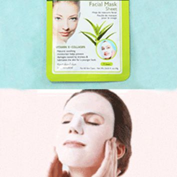 Aloe Vera Extract Facial Mask