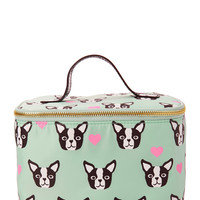 Boston Terrier Travel Cosmetic Case