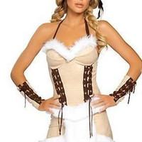 Halloween Halter Indian Costume Set