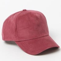 LA Hearts Corduroy Baseball Cap - Womens Hat