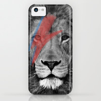 David Bowie Lion iPhone & iPod Case by Urban Exclaim