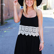 Lace Up For Spring {Black}