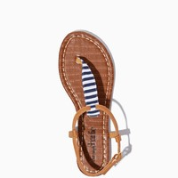 Sandy Lake Striped Sandals| Fashion Shoes | charming charlie