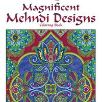 Creative Haven Magnificent Mehndi Designs Coloring Book