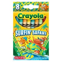 Crayola 8ct Pick your Pack Surfin' Safari Crayons