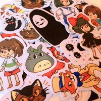 Studio Ghibli Sticker Pack 1