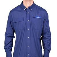 Mahi Fishing Shirt in Blue Depths by Southern Tide
