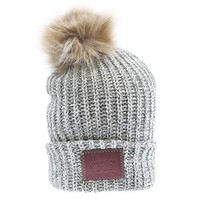 Forest Speckled Pom Beanie (Natural Pom) - Love Your Melon