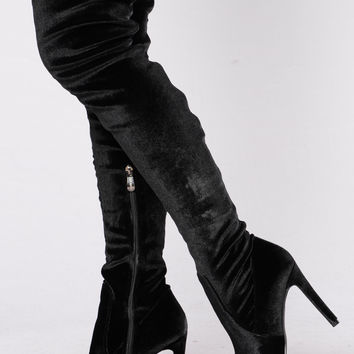 Come At Me Boot - Black