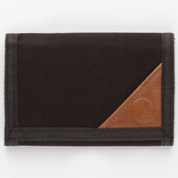 Volcom Circle Stone Wallet Black One Size For Men 25831610001