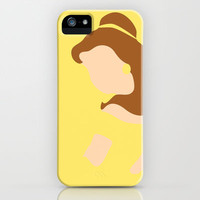 Belle - Beauty - Beauty and the Beast iPhone Case by Adrian Mentus | Society6