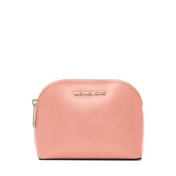 Cindy Patent Saffiano Leather Pouch | Michael Kors