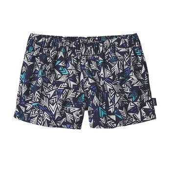"""Patagonia Women's Barely Baggies Shorts - 2 1/2""""   Quiver & Quill: Navy Blue"""
