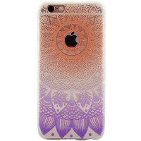 Newest Customized Orange Purple Lace Case Cover for iPhone 7 7 Plus & iPhone 5s se & iPhone 6 6s Plus + Gift Box-463