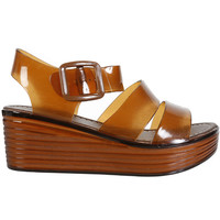 Monica Jelly Sandal Platform - Cola