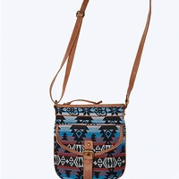 Dusty Aztec Crossbody