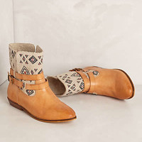 James Embroidered Booties