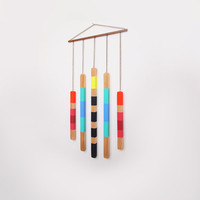 Geometric Wall Hanging Colorful Art Object Home Decor