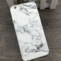 Granite Marble iPhone 6 Case (Thin Silicone)
