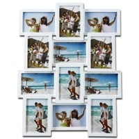 Adeco 12-Opening Collage Picture Frame