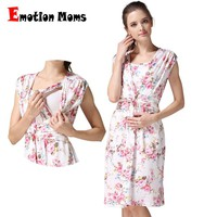 Emotion Moms Maternity clothing Maternity Dresses Breastfeeding clothes Nursing Dress pregnancy clothes for pregnant women