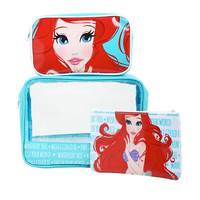 Disney The Little Mermaid Ariel Cosmetic Bag Set