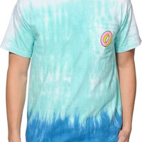 Odd Future Donut Tie Dye Pocket T-Shirt