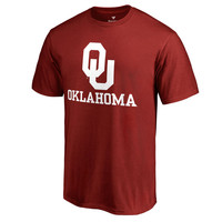 Oklahoma Sooners Fanatics Branded Team Lockup T-Shirt - Crimson
