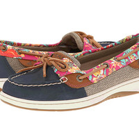 Sperry Top-Sider Angelfish 2 Eye Flamingo Floral Grey - Zappos.com Free Shipping BOTH Ways
