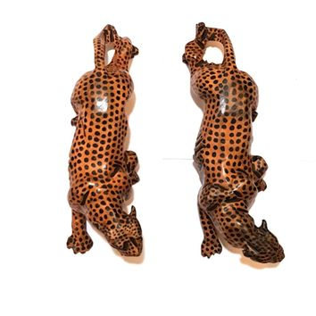 """2"""" to 3"""" Tall x 11"""" Long Wood Tiger"""