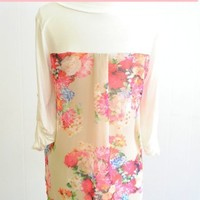 The Impeccable Pig - Floral Back Top